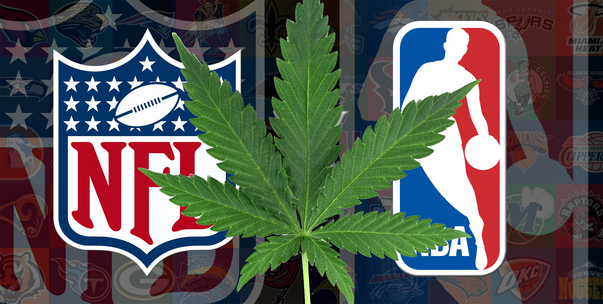 nfl nba marijuana