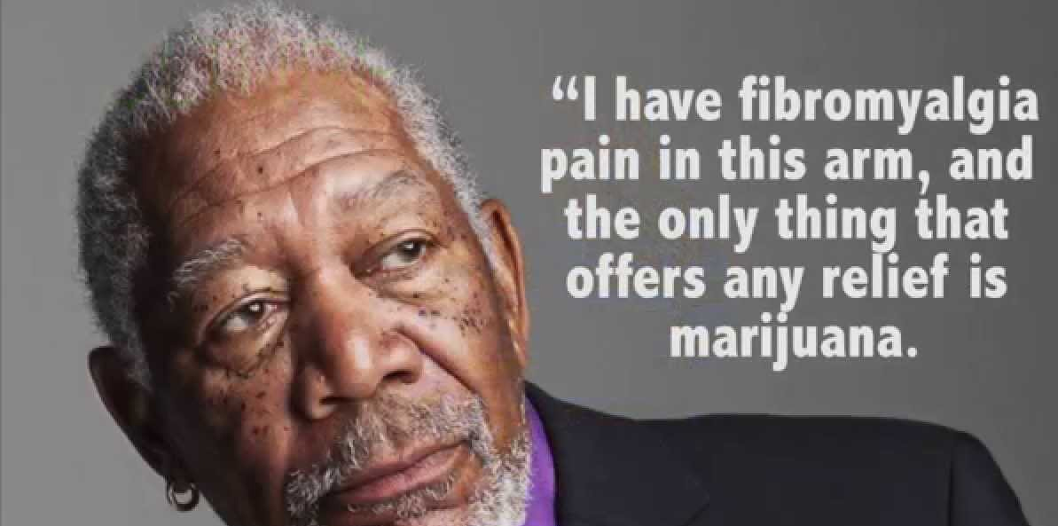 morgan freeman uses cbd